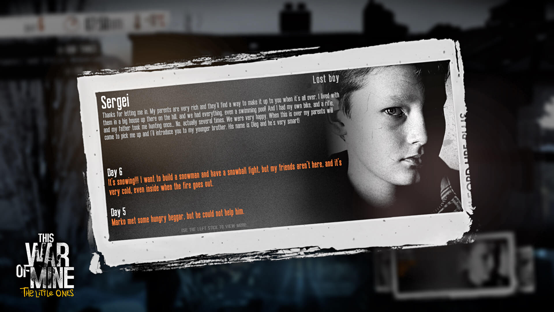 This War of Mine: The Little Ones iOS Preview