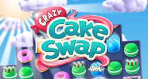 Crazy Cake Swap: neues Match-3-Puzzle von Zynga