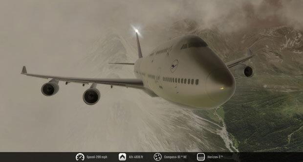 """Flug-Simulation """"Flight Unlimited 2K16"""" erstmals kostenlos & mit großem Update"""