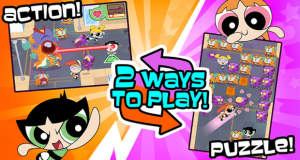 """Flipped Out – Powerpuff Girls"" neu von Cartoon Network: zwei Modi, ein Premium-Download"