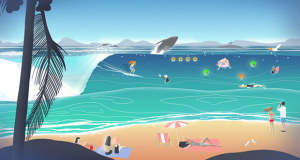 Go Surf – The Endless Wave: (zu) entspannter Highscore-Wellenritt