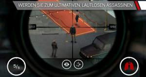 """Scharfschützen-Shooter """"Hitman: Sniper"""" kostet aktuell nur 99 Cent"""