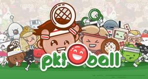 PKTBALL: verrücktes Arcade-Tennisspiel vom HoPiKo-Entwickler