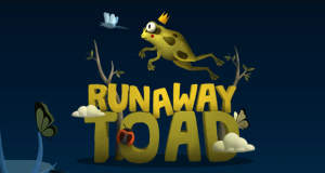 Runaway Toad: spaßiger One-Touch-Plattformer als Premium-Download