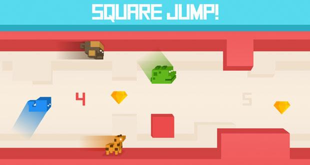 Square Jump! – neues Highscore-Gerutsche von BoomBit Games