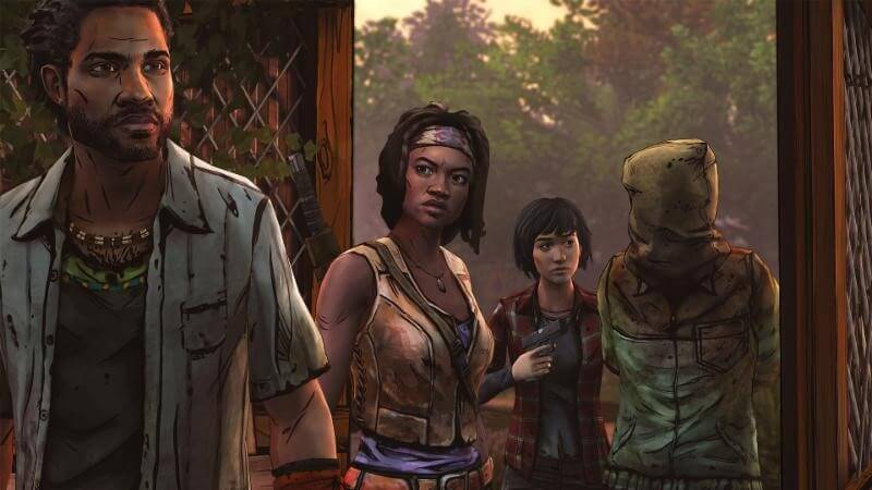 The Walking Dead Michonne Epsiode 3 Preview iOS