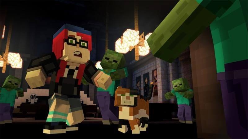 Minecraft Story Mode Epsiode 6 iOS