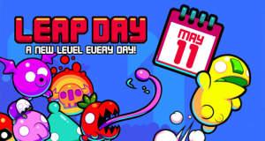 """""""Leap Day"""" neu von Nitrome: Plattformer mit einem neuen Level pro Tag"""