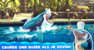 "Neue iOS Spiele: ""Hungry Shark World"", ""INKS."", ""Olympus Rising"", ""My Koi"" uvm."