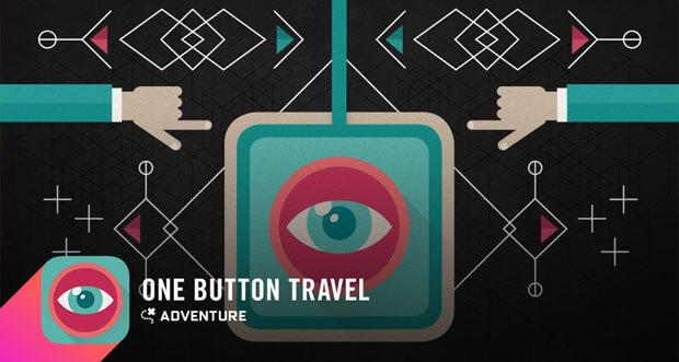 """Tolles Text-Adventure """"One Button Travel"""" wieder auf 0,99€ reduziert"""