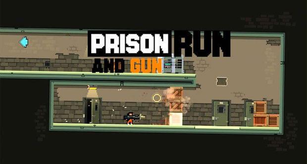 """Hammerharten Plattformer """"Prison Run and Gun"""" wieder zum Schnäppchenpreis laden"""