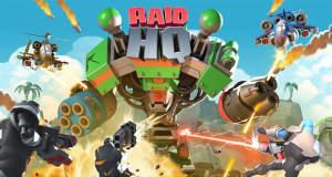 RAID HQ: neues F2P-Strategiespiel mit Arcade-Shooter-Kämpfen