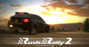 Rush Rally 2: tolles Rally-Rennspiel ist neu in den AppStore gerast