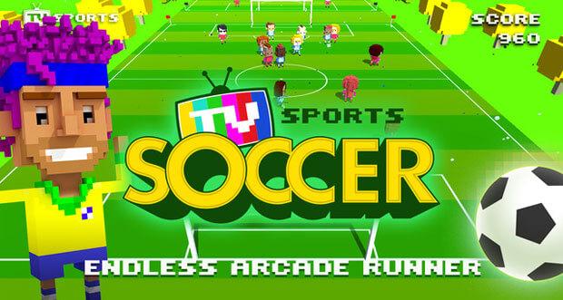 """Endloses Fußballspiel """"TV Sports Soccer"""" erstmals kostenlos erhältlich"""