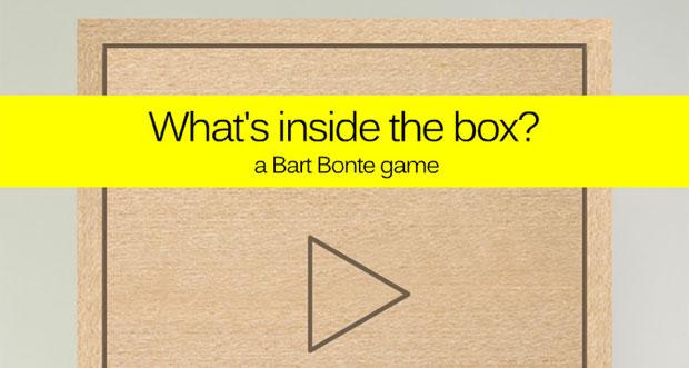 What's inside the box? Finde es heraus!