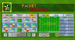 Fussball Pocket Manager: neuer Fußball-Manager im Retro-Look