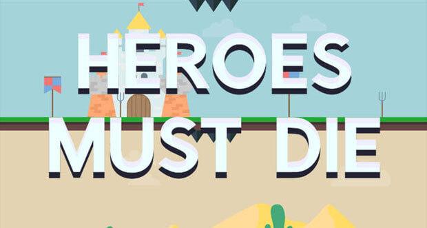 """Fallen statt Helden steuern im neuen Highscore-Spiel """"Heroes Must Die"""" von Appsolute Games"""