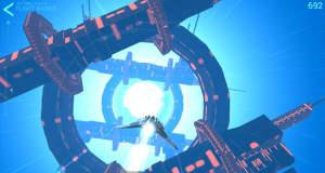 Hyperburner: rasend schnell durch atemberaubend schöne Weltraum-Tunnel