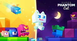 """Jump & Run """"Super Phantom Cat"""" mit neuen Leveln wieder für 99 Cent im Angebot"""
