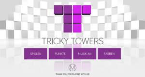 """Tricky Towers: neues Puzzle ist """"Threes"""" mit dreidimensionalen Türmen"""