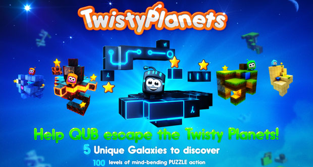 """Puzzle-Plattformer """"Twisty Planets"""" von Crescent Moon Games erstmals kostenlos"""