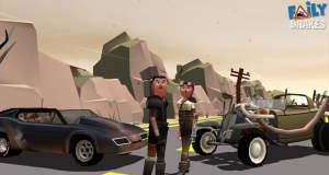"""Update für Endless-Racer """"Faily Brakes"""": neue Wagen, Umgebungen und Kostüme"""