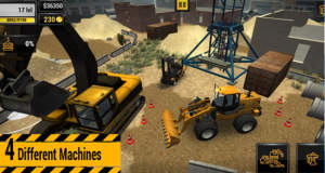 Construction Machines 2016 Mobile: Bagger fahren in neuer Bau-Simulation