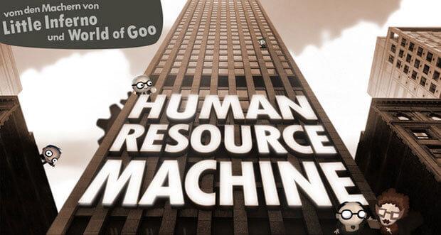 """Logik-Puzzle """"Human Resource Machine"""" aktuell auf 2,99€ reduziert"""