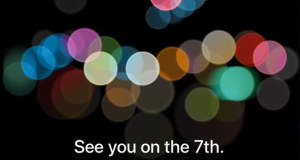 iPhone 7 Keynote am 7. September