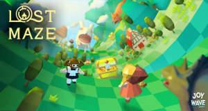 Lost Maze: wunderschönes Puzzle-Abenteuer auf einer zehneckigen Röhre