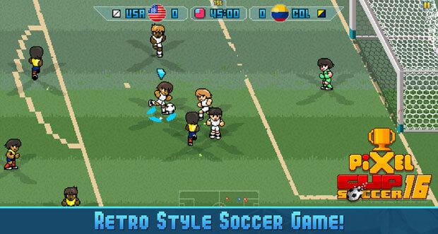 """""""Pixel Cup Soccer 16"""" erhält olympisches Fußball-Turnier & weitere Neuerungen"""