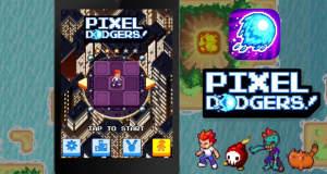 Pixel Dodgers: endloses Ausweichen auf fliegenden Inseln