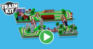 """Tuut, tuut, """"Train Kit"""" ist da: virtuelle Modelleisenbahn auf iPhone und iPad bauen"""