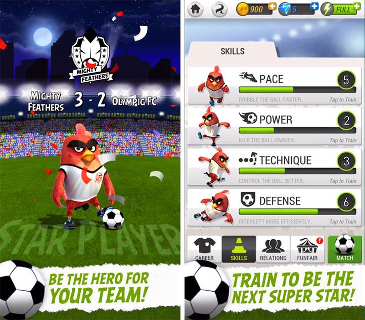 Angry Birds Goal! iOS