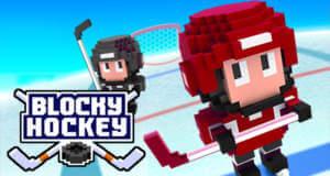 Blocky Hockey: endlose Jagd nach dem Torerfolg auf dünnem Eis