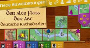 """Herausragendes Brettspiel """"Carcassonne"""" erhält drei neue Mini-Erweiterungen"""