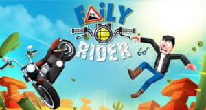 Faily Rider: rasanter Endless-Racer auf zwei Rädern