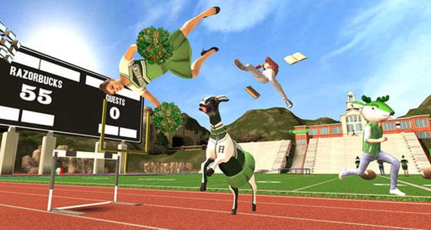 """Goat Simulator"" erhält neues Level ""Buck to School"""