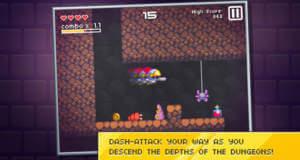 """""""Journey Below"""" von Ravenous Games: Mix aus Auto-Runner und Dungeon-Crawler erstmals reduziert"""