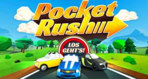 Pocket Rush: kostenloser Fun-Racer mit One-Touch-Steuerung