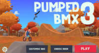 pumped bmx 3 ios trial trick rennspiel fuer ios