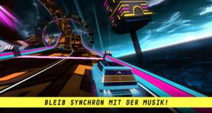 Riff Racer: futuristisches Rennspiel im Takt der Musik