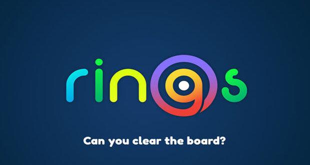 """""""Rings."""" ist ein buntes und ungewöhnliches Match-3-Puzzle mit Ringen"""
