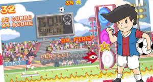 Skilly Shooterstars: dieses Fußball-Highscore-Game ist uns zu schwer