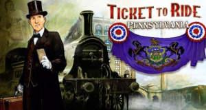 """Tolles Brettspiel """"Ticket to Ride"""": neue Pennsylvania-Erweiterung und aktuell im Angebot"""