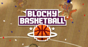 """Blocky Basketball – Endless Arcade Dunker"" ist ein endloses Basketball-Game"