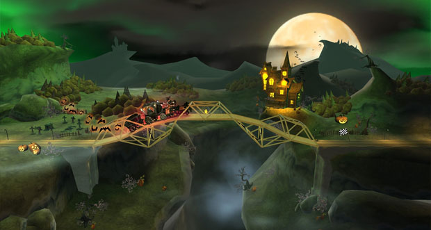 """Bridge Constructor"" erhält 5 neue Level im Halloween-Update"