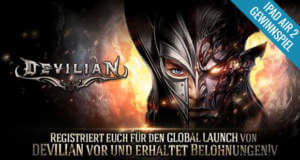 """Action-RPG """"Devilian"""" von Gamevil: kostenlos vorregistrieren und iPad Air 2 gewinnen"""
