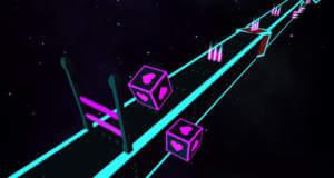 Double Cube: zwei Würfel auf einem endlosen Pfad