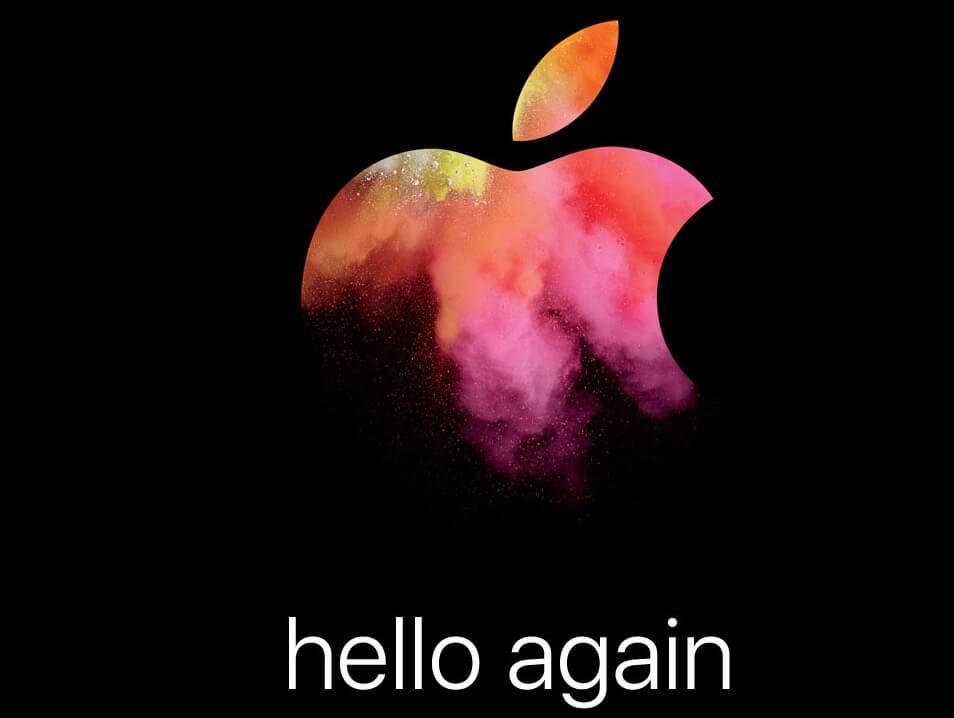Mac Keynote Oktober 2016